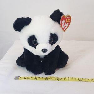 Ty beanie baby baboo the panda velvety